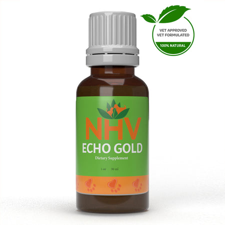 NHV ECHO GOLD for Dogs and Cats - Ear Health - 30ML