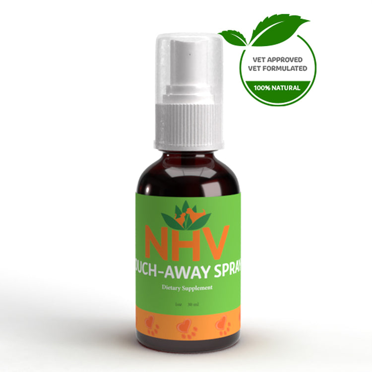NHV OUCH-AWAY SPRAY for Dogs, Cats, Rabbits, Birds and Reptiles - Grooming - 30ML