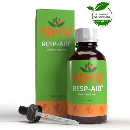 NHV RESP AID for Dogs and Cats - Dietary Supplement - 100ML