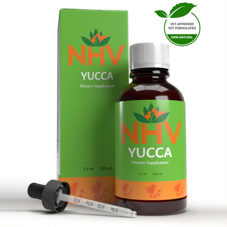 NHV YUCCA for Dogs and Cats - Dietary Supplement - 100ML