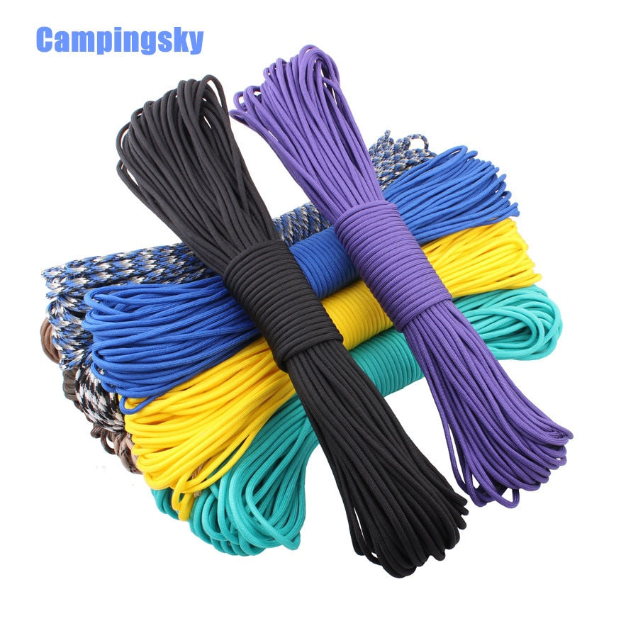 550 Paracord Parachute Cord Lanyard Desert Survival III 7 Core Strand 100FT Rope