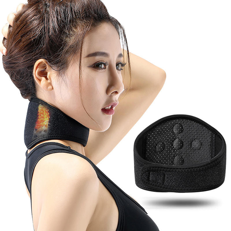 Self-heating magnet magnetic therapy, neck massager fitness equipment