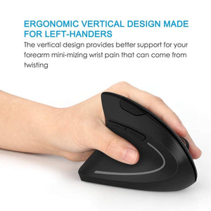 VertErgo™ Ergonomic Vertical Wireless Mouse--Free Shipping