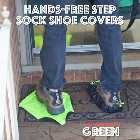 Hands-Free Step Sock Shoe Covers
