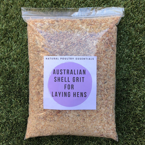 Shell grit for chickens Australia