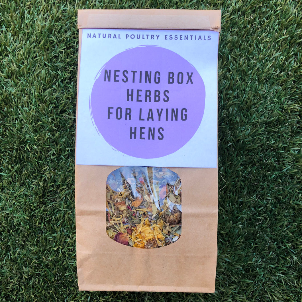 Nesting Box Herbs For Chickens