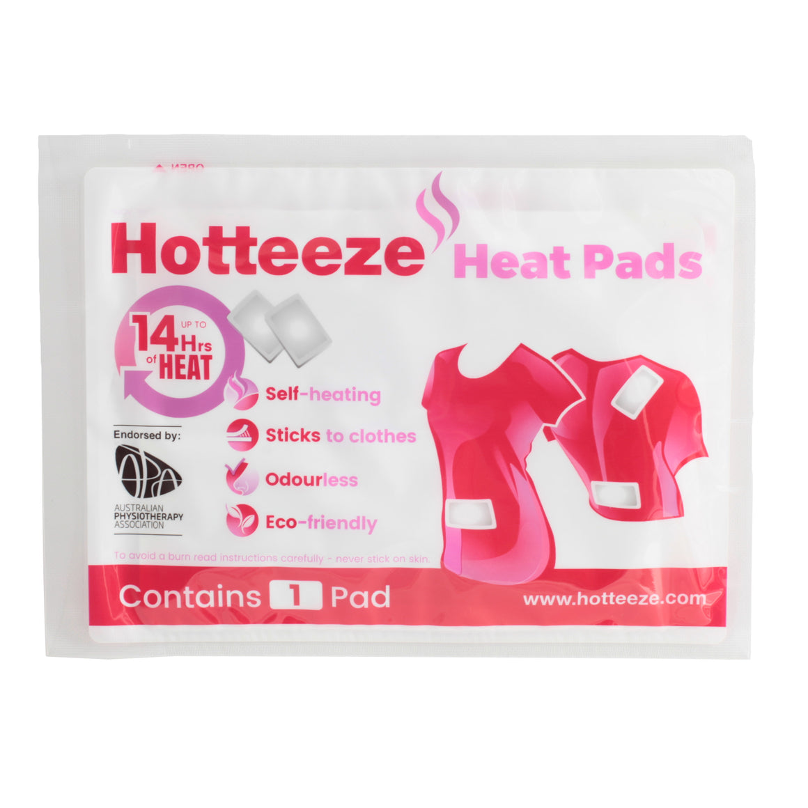 Hotteeze Heat Pads (1 pack 10 pads)