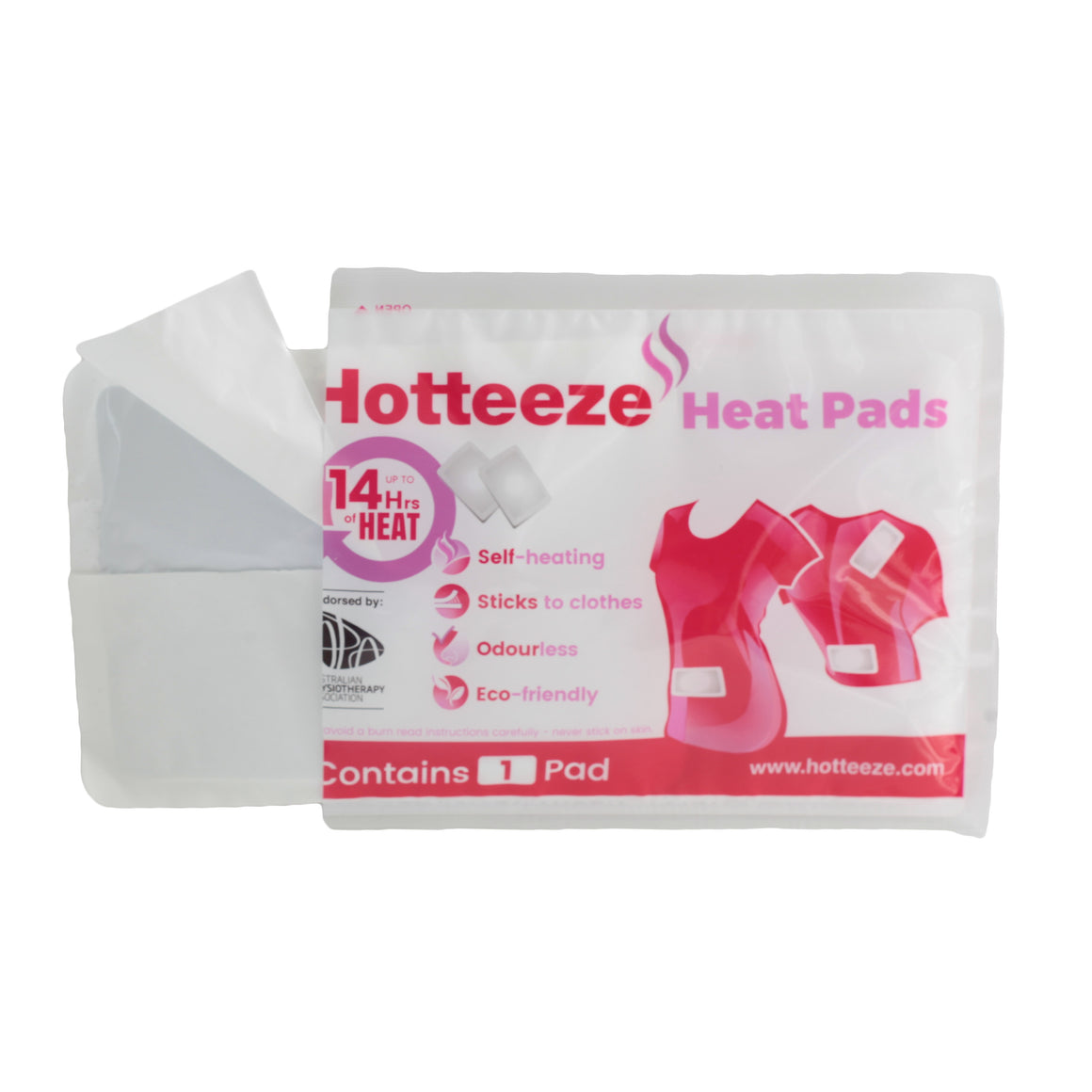 Hotteeze Heat Pads (50 pad VALUE PA)
