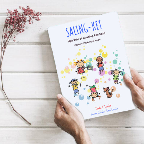 Saling-Ket (Activity Book for Kids 3-9 yrs old)