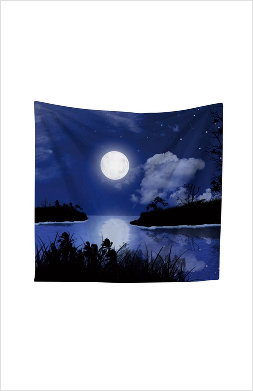 Nordic Night Sky Tapestry