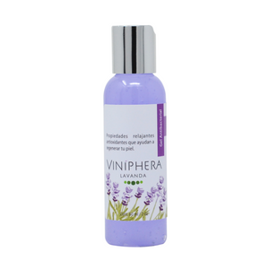 Gel antibacterial natural de lavanda