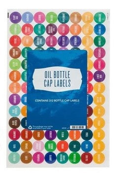 Essential oil bottle labels Young Living