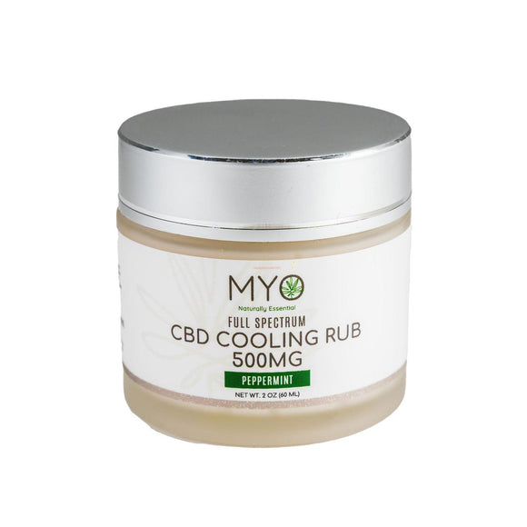 CBD Cooling Rub Full Spectrum 500mg