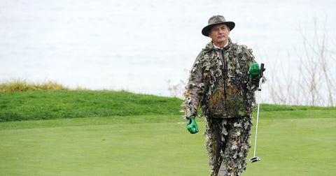 Bill Murray Camp golf outfit
