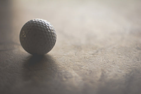 golf ball dimples