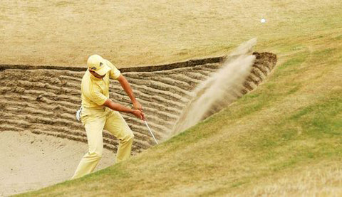sergio garcia yellow golf outfit