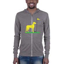 Load image into Gallery viewer, Big Dog Zip Up Hoodie Proud 90 Grey Triblend XS