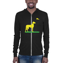 Load image into Gallery viewer, Big Dog Zip Up Hoodie Proud 90 Solid Black Triblend XS
