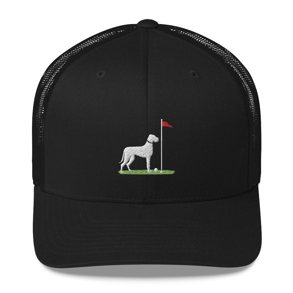 good boy hat black