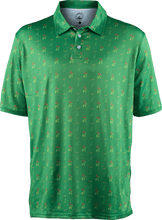 Load image into Gallery viewer, masters green golf polo
