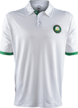 Load image into Gallery viewer, masters white contrast golf polo