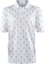 Load image into Gallery viewer, masters white golf polo
