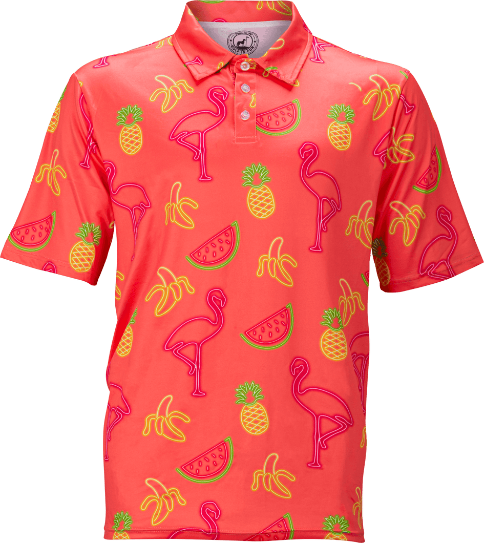 Neon Flamingo - Coral Proud 90