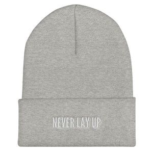 Never Lay Up Beanie Proud 90 Heather Grey