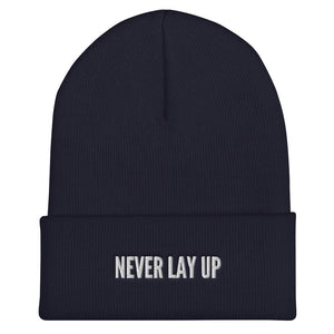 Never Lay Up Beanie Proud 90 Navy