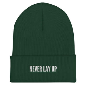 Never Lay Up Beanie Proud 90 Spruce