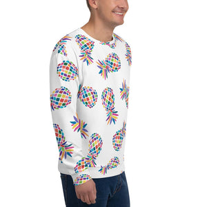 Pineapple Party - Crew Neck Pullover Proud 90