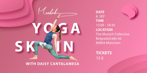 #YogaSkin Evening on 08.09.19 in Munich