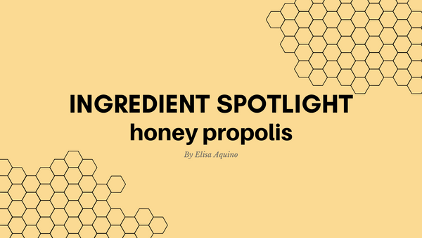 Skincare Ingredient Spotlight: Is honey propolis the brightening, hydrating and anti-aging solution?