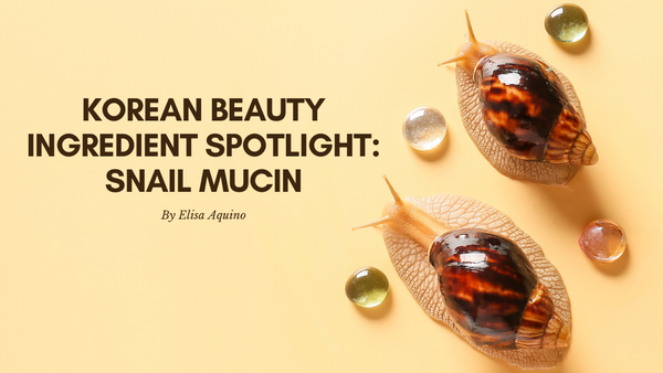 Korean Beauty Ingredient Spotlight Snail Mucin