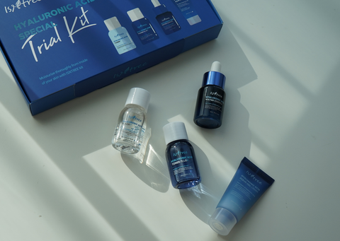 Isntree hyaluronic acid special trail kit