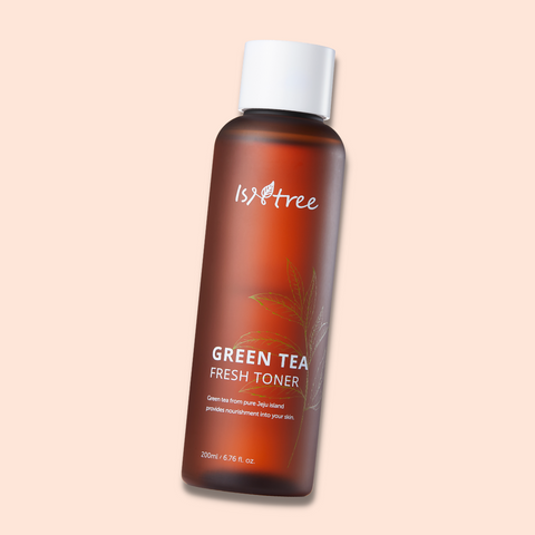 Isntree Green Tea toner : Skincare by Hyram recommendation