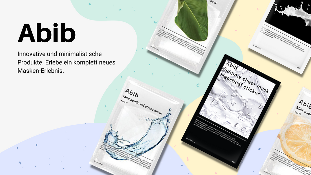 Abib Sheet Masks Korean Skincare Kbeauty