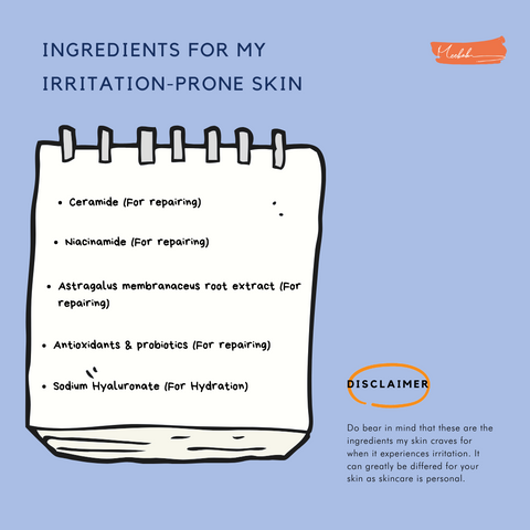 irritation ingredients