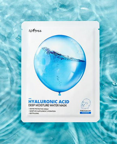 The Isntree Hyaluronic Acid Mask is here to give you the hydration kick that you need! With the many different hyaluronic acids this mask will hydrate your skin deeply and give you the plump and dewy look!