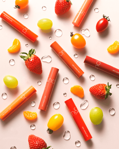 rom&nd Juicy Lasting Tint (fruits inspired lips tint for your daily Korean makeup routine)