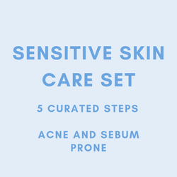 MEEKAH 5-Steps Sensitive (Acne + Sebum) Skin Set  - Korean Beauty - Meekah