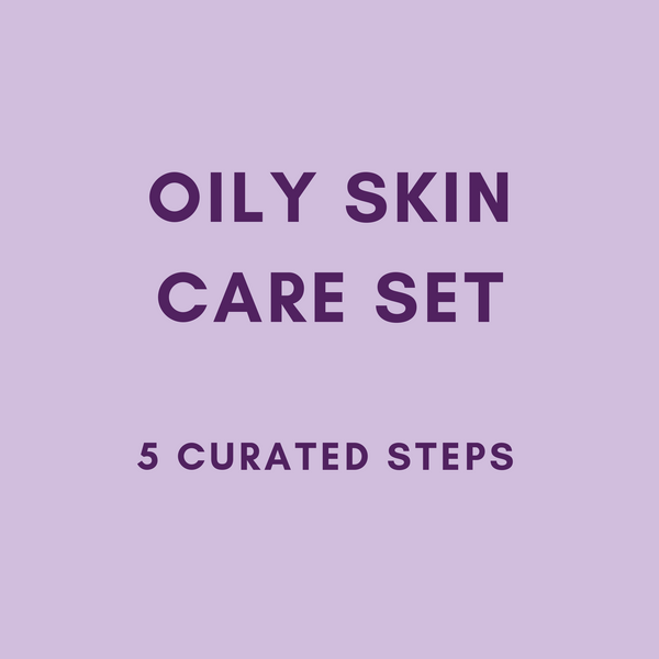 MEEKAH 5-Steps Oily Skin Set  - Korean Beauty - Meekah