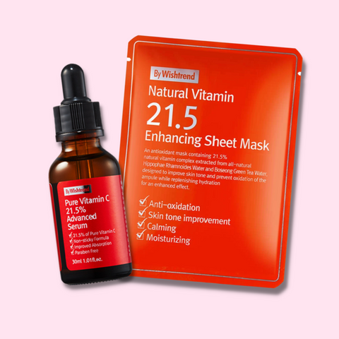 By wishtrend vitamin C serum, by wishtrend vitamin c sheet mask