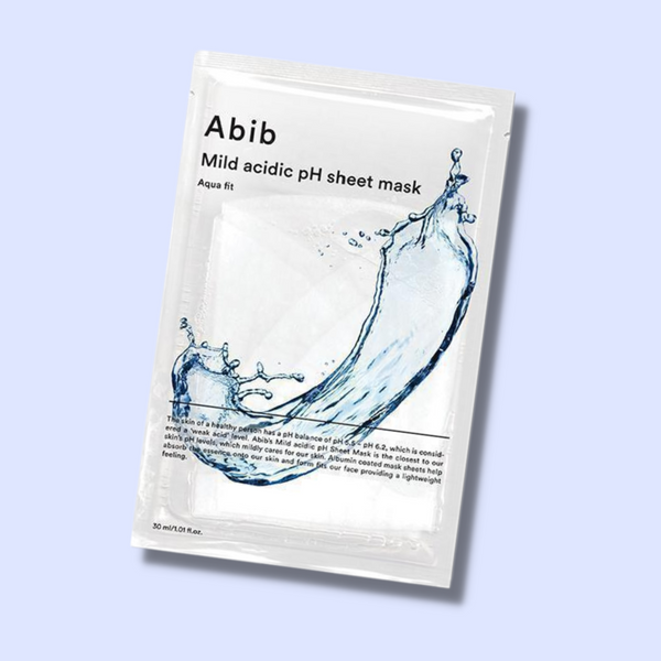 Abib Mild Acidic pH Sheet Mask Aqua Fit