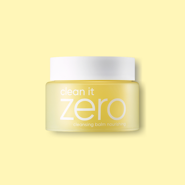 This kbeauty favorite Banila Co Clean it Zero Cleansing Balm Nourishing is a favorite oil-cleanser as the first step to double-cleanse to melt off the stubborn makeup and sunscreen without stripping the skin's natural oils.