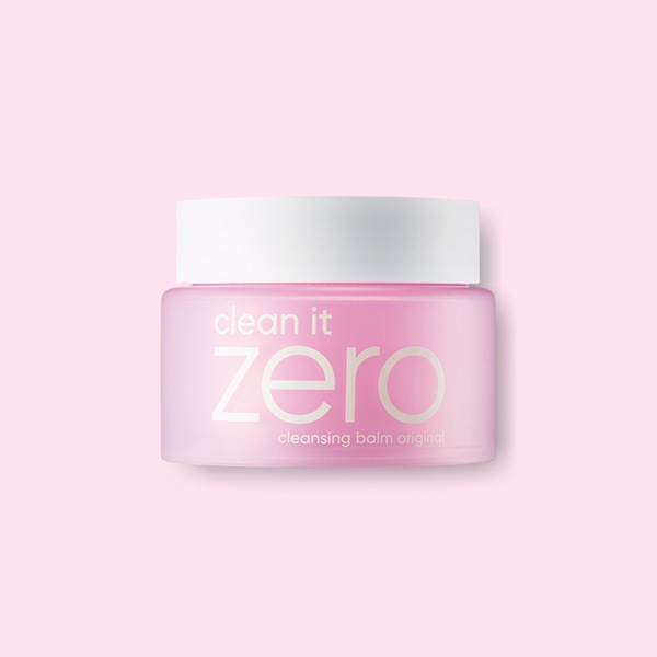 This cult favorite BANILA CO Clean It Zero Cleansing Balm Original is a favorite of ours as our first step to double-cleanse to melt off the stubborn makeup and sunscreen without stripping the skin's natural oils.