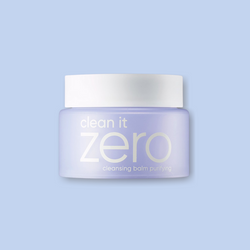 This cult favorite BANILA CO Clean It Zero Cleansing Balm Purifying is a favorite of ours as our first step to double-cleanse to melt off the stubborn makeup and sunscreen without stripping the skin's natural oils.