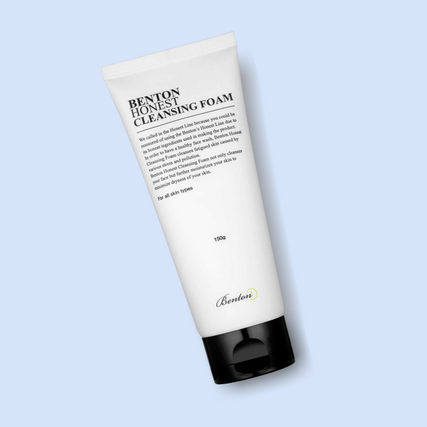 The Benton Honest Cleansing Foam is formulated with potent active ingredients to gently cleanse dull skin, that suffers from stress and external stressors. Moreover, it has tightening and hydrating properties, while effectively removing excess sebum, makeup residues and dirt without stripping the skin's natural oils.