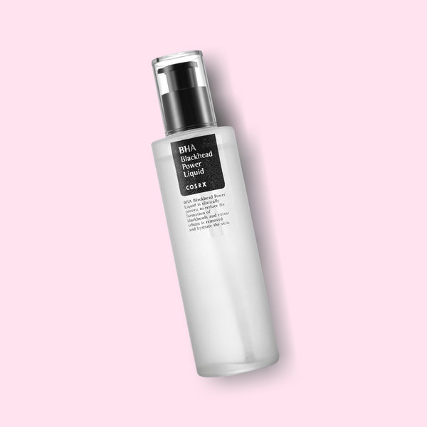 COSRX BHA Blackhead Power Liquid is formulated to treat clogged pores and gently remove dead skin. Active ingredient Betaine Salicylate (BHA) acts as an effective exfoliant, while also helping the skin barrier to regenerate and form new skin cells.