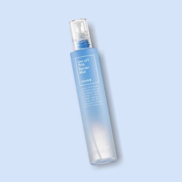 This hydrating COSRX Low pH PHA Barrier Mist gives intense moisture to your skin throughout the day. It is rich in nourishing ingredients, such as 98.1% Coconut Fruit Extract and 0.5% PHA. This lightweight spray helps to keep a smooth and radiant complexion while balancing the skin's optimal pH level to help to treat irritations and acne-causing bacteria.